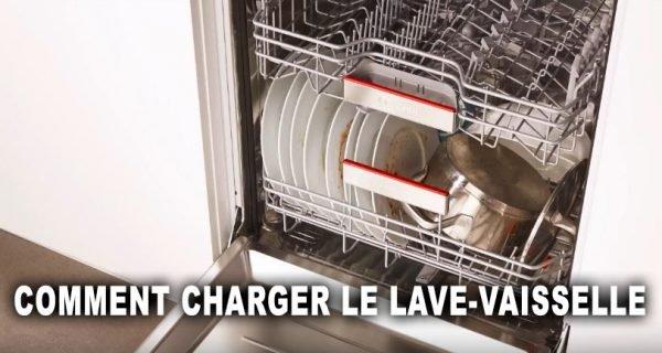 Comment charger le lave-vaisselle