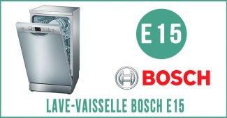 Lave-vaisselle Bosch E15