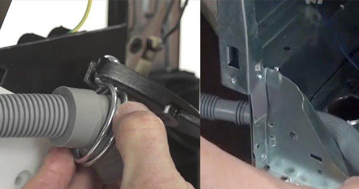 Problèmes avec le tuyau de vidange