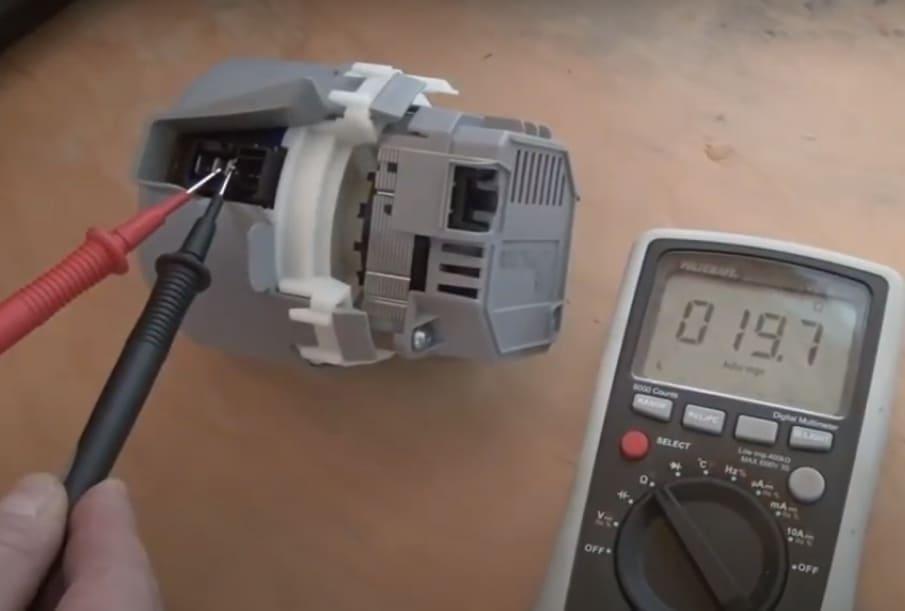 Élément chauffant d'essai du code d'erreur du lave-vaisselle Siemens E01