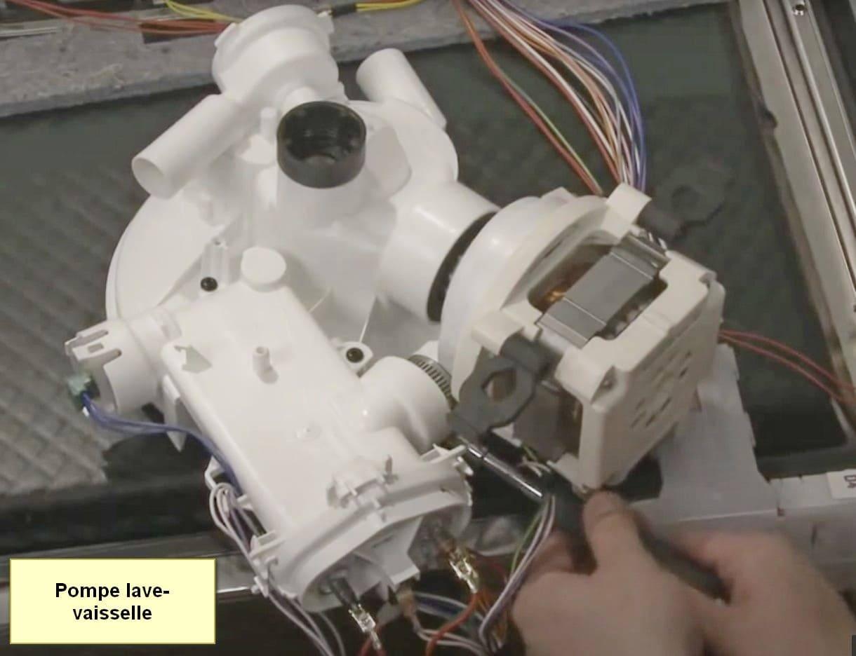 Code d'erreur du lave-vaisselle Bosch Pompe E20