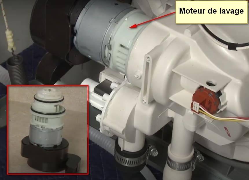Code d'erreur du lave-vaisselle Frigidaire I50 moteur