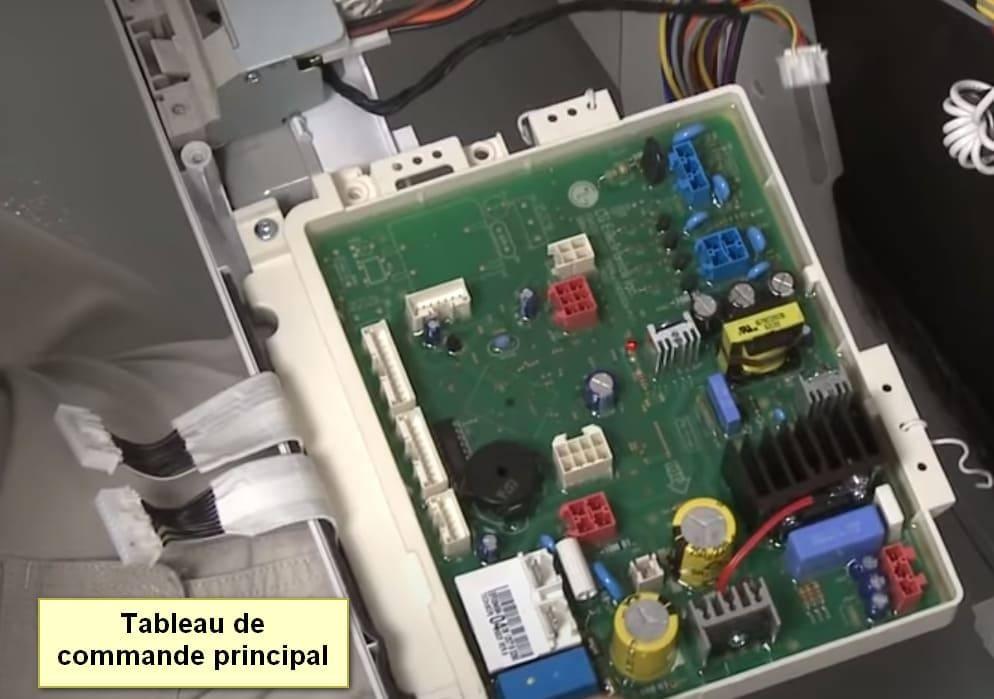 Code d'erreur du lave-vaisselle LG Carte de commande principale CL