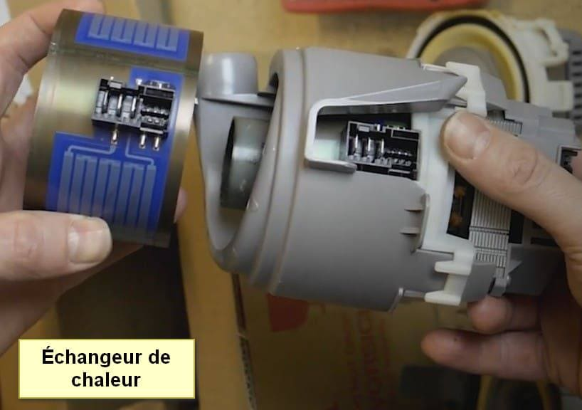 Code d'erreur du lave-vaisselle Siemens E19 échangeur de chaleur
